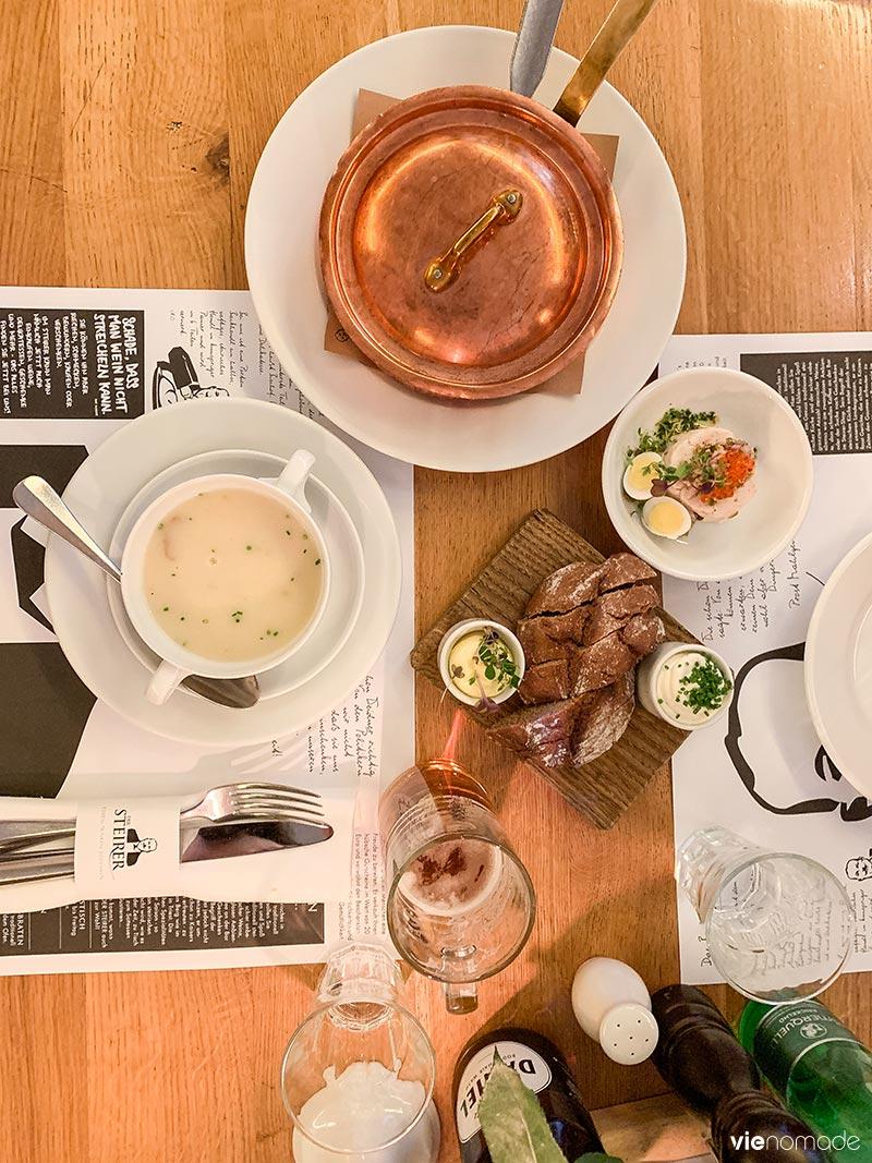 Manger à Graz: restaurant Der Steirer