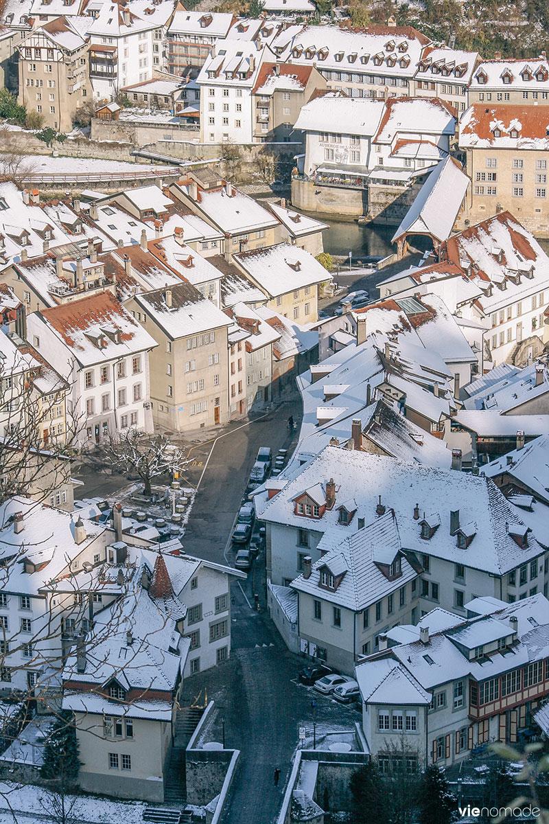 Basse-Ville de Fribourg, Suisse
