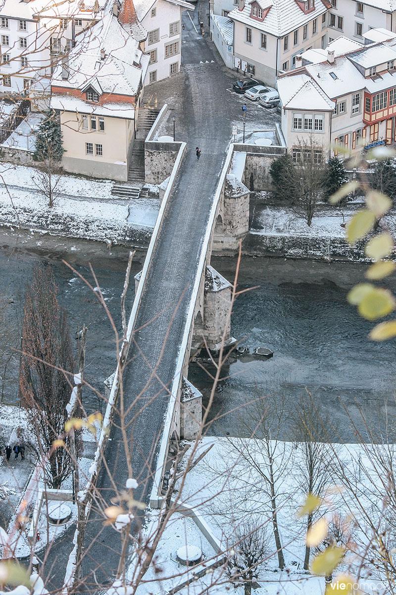 Pont du Milieu, Fribourg