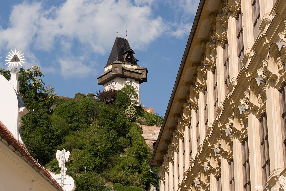 Schlossberg à Graz