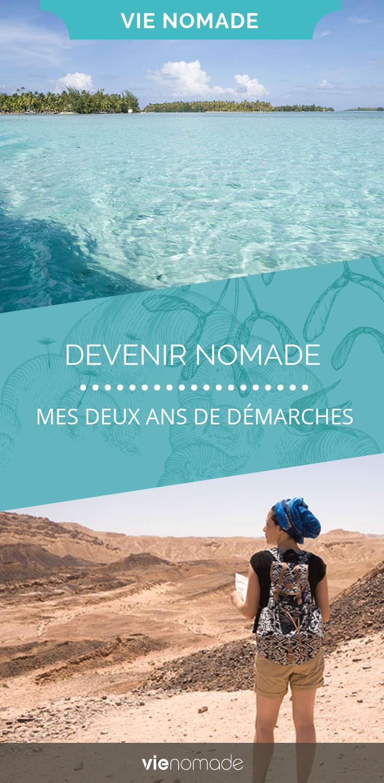 Préparation à la vie nomade