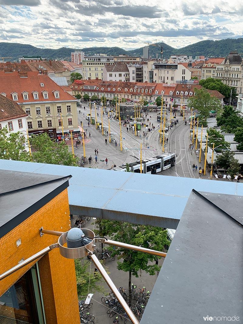 Area 5, un restaurant avec vue sur Graz