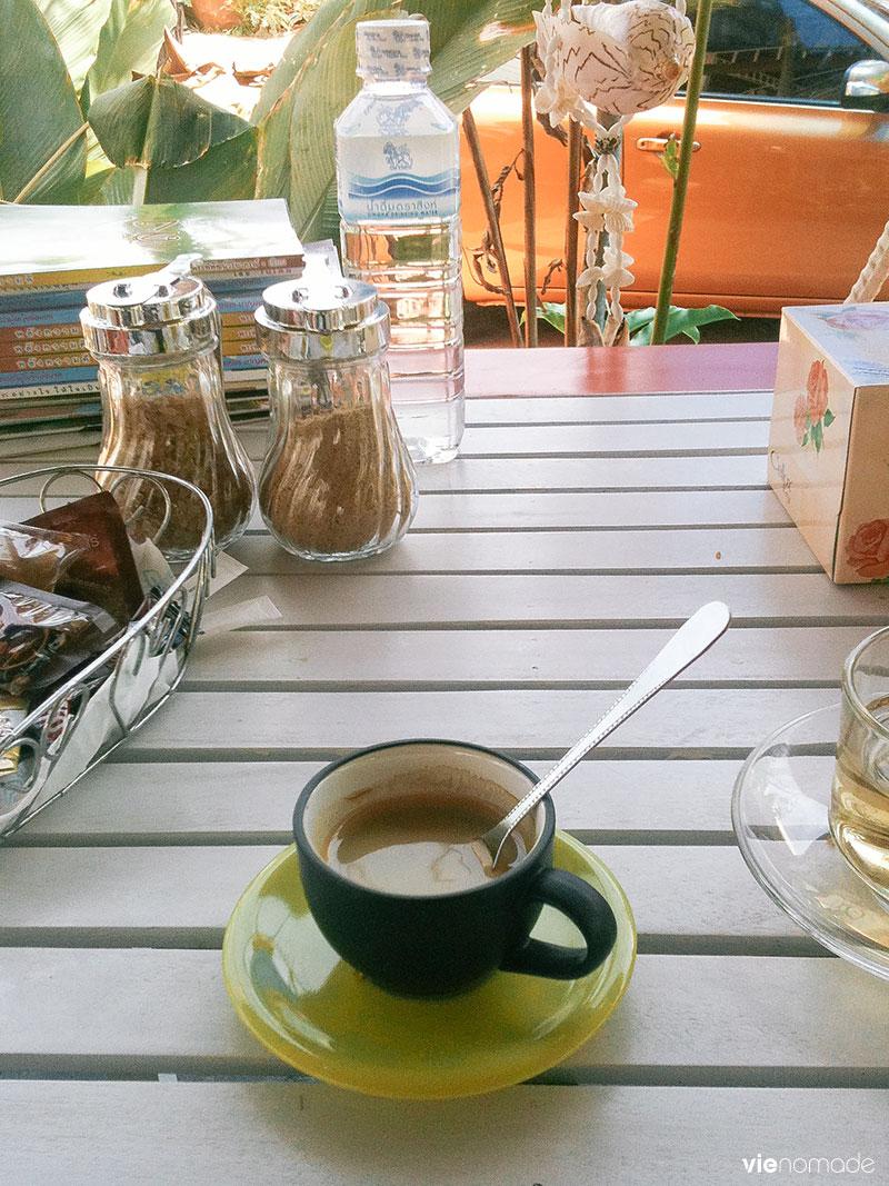 Un café en Thaïlande