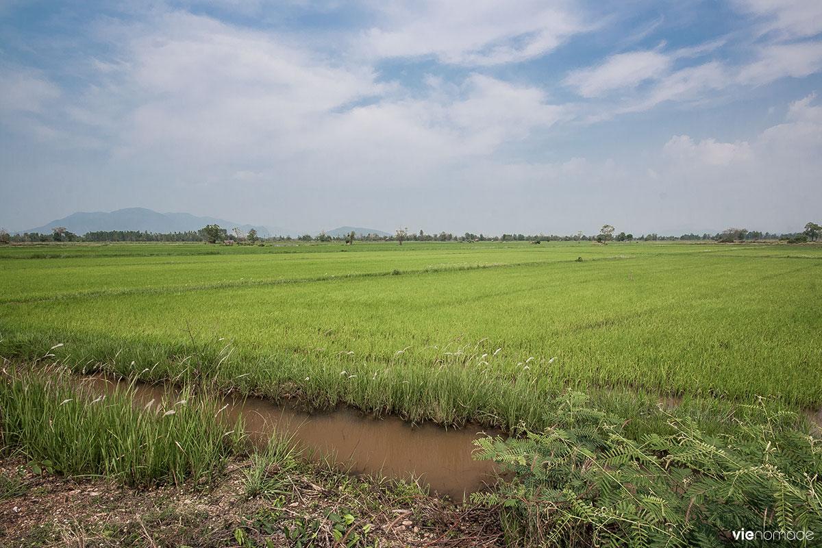 La région de l'Issan en Thaïlande