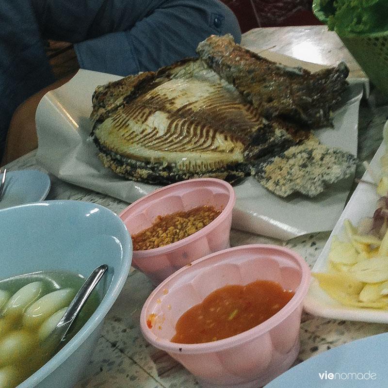 Manger à Udon Thani, au Night Bazaar