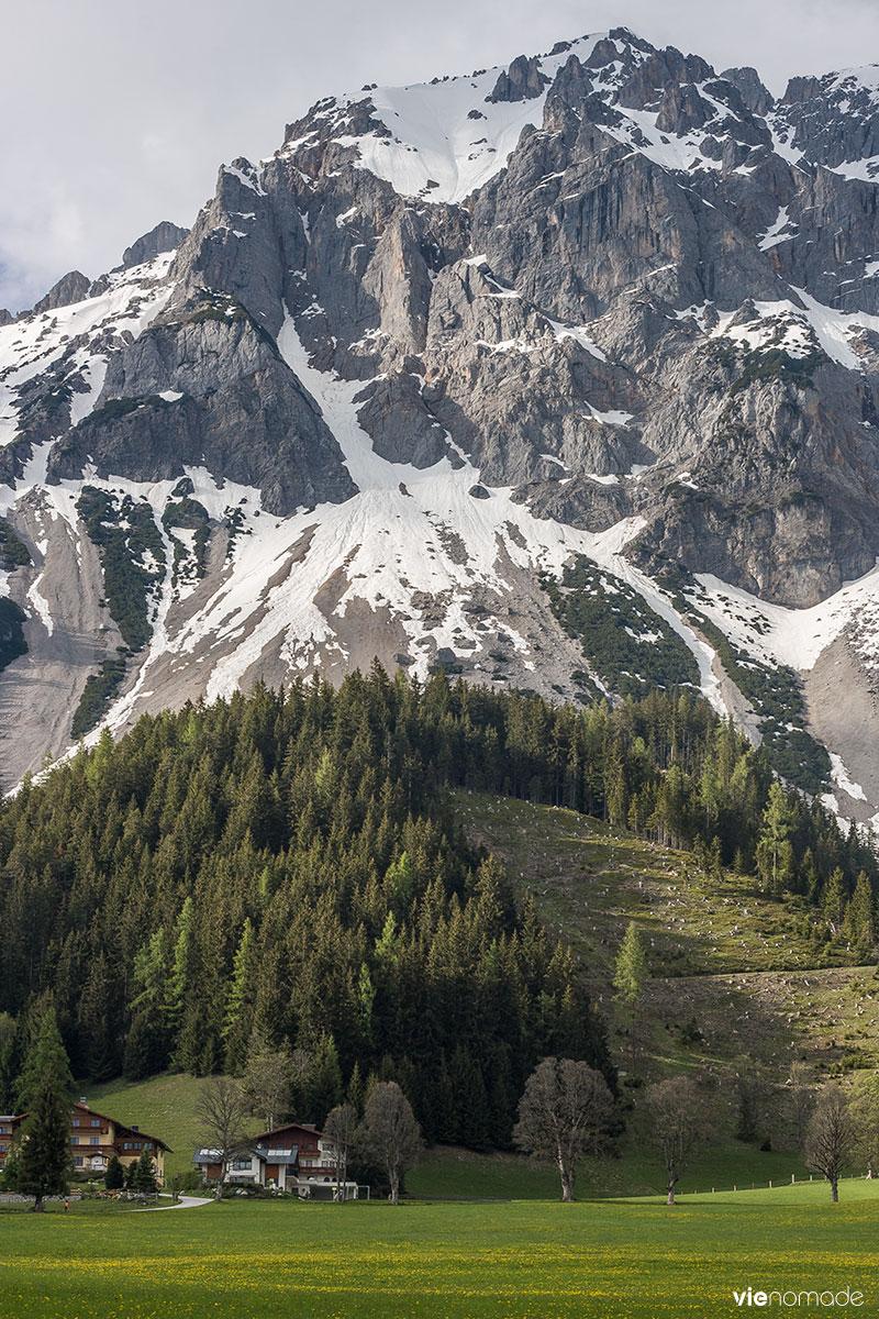 Voyager dans les Alpes autrichiennes