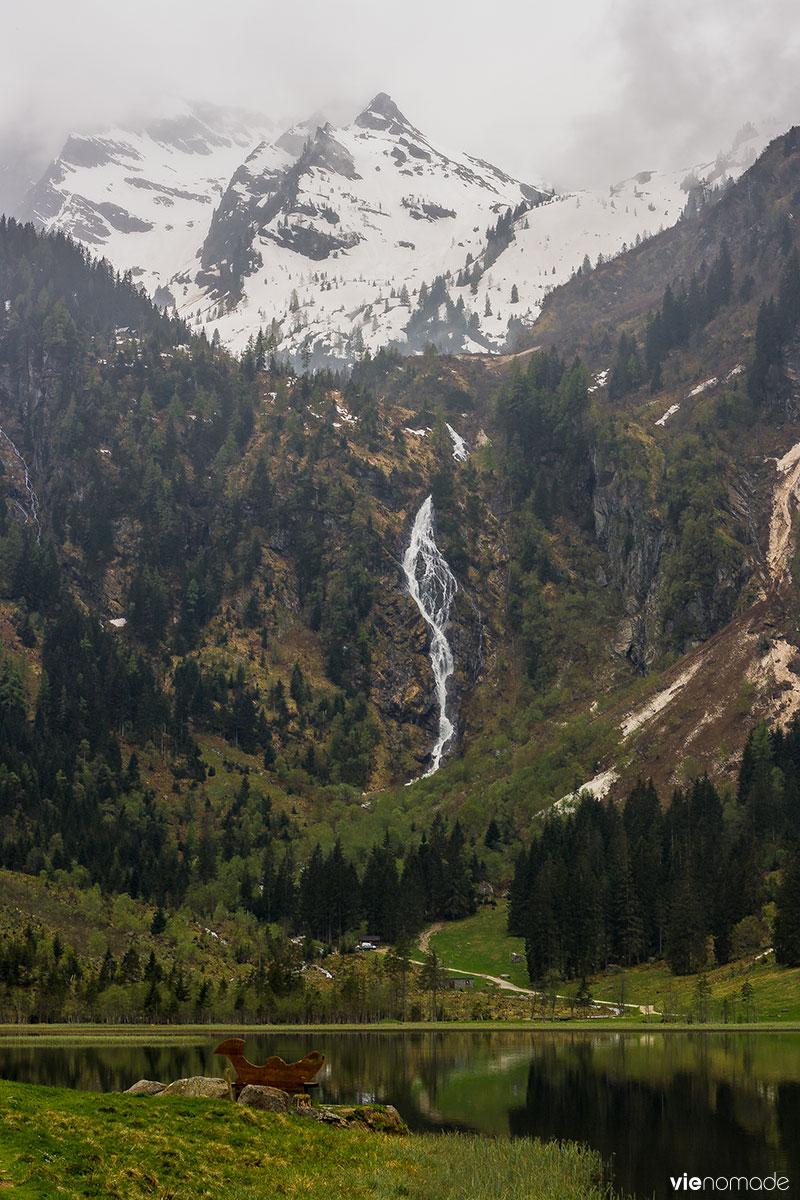 Chute d'eau du Bodensee, Autriche