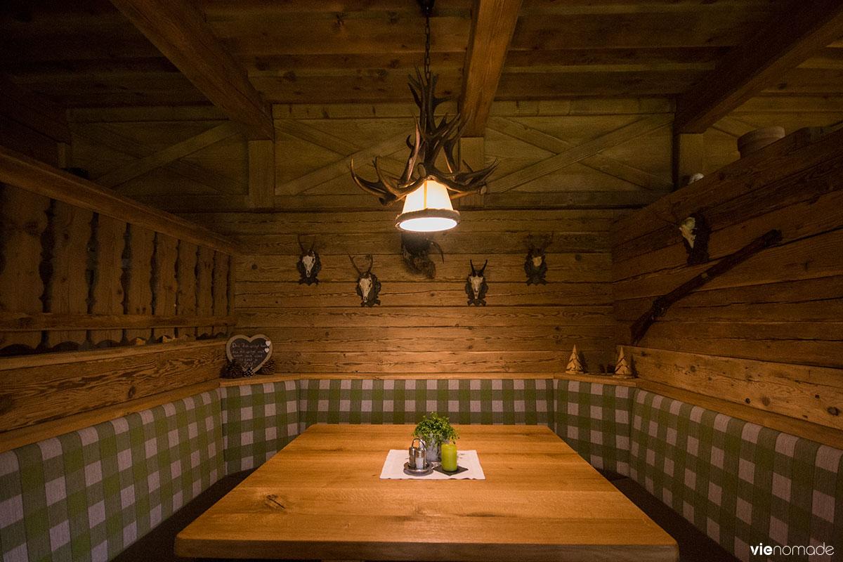 Riesachsee Hütte, restaurant de montagne