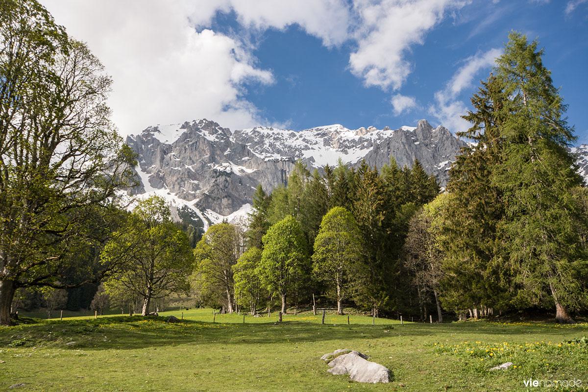 La région de Schladming-Dachstein en Autriche