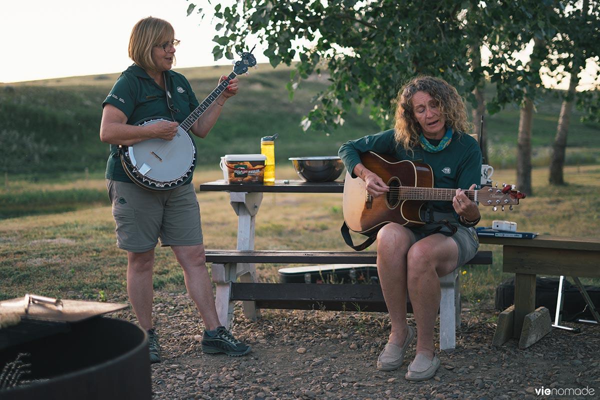 Brenda Peterson et Corelie Keller