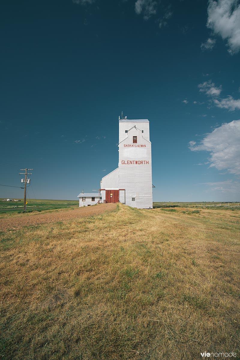 Elévateur à grains - Saskatchewan