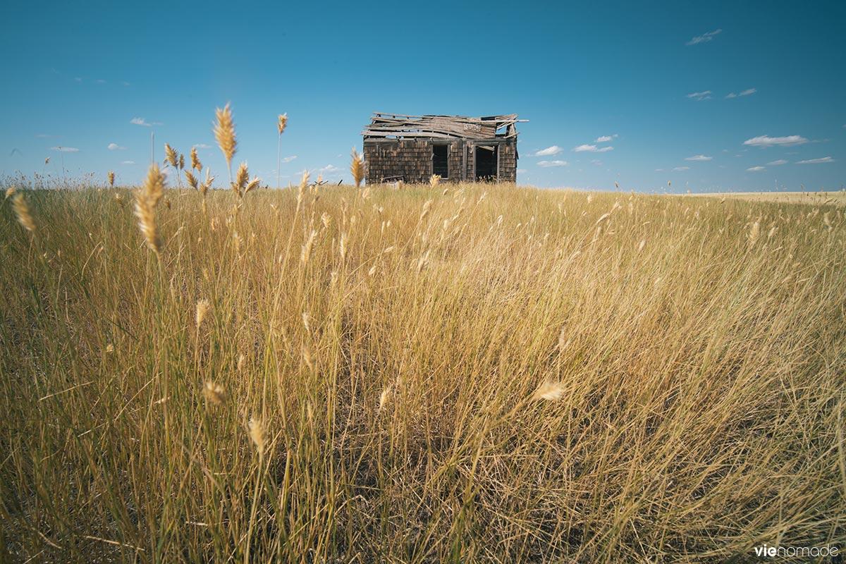 Maison abandonnée, Saskatchewan