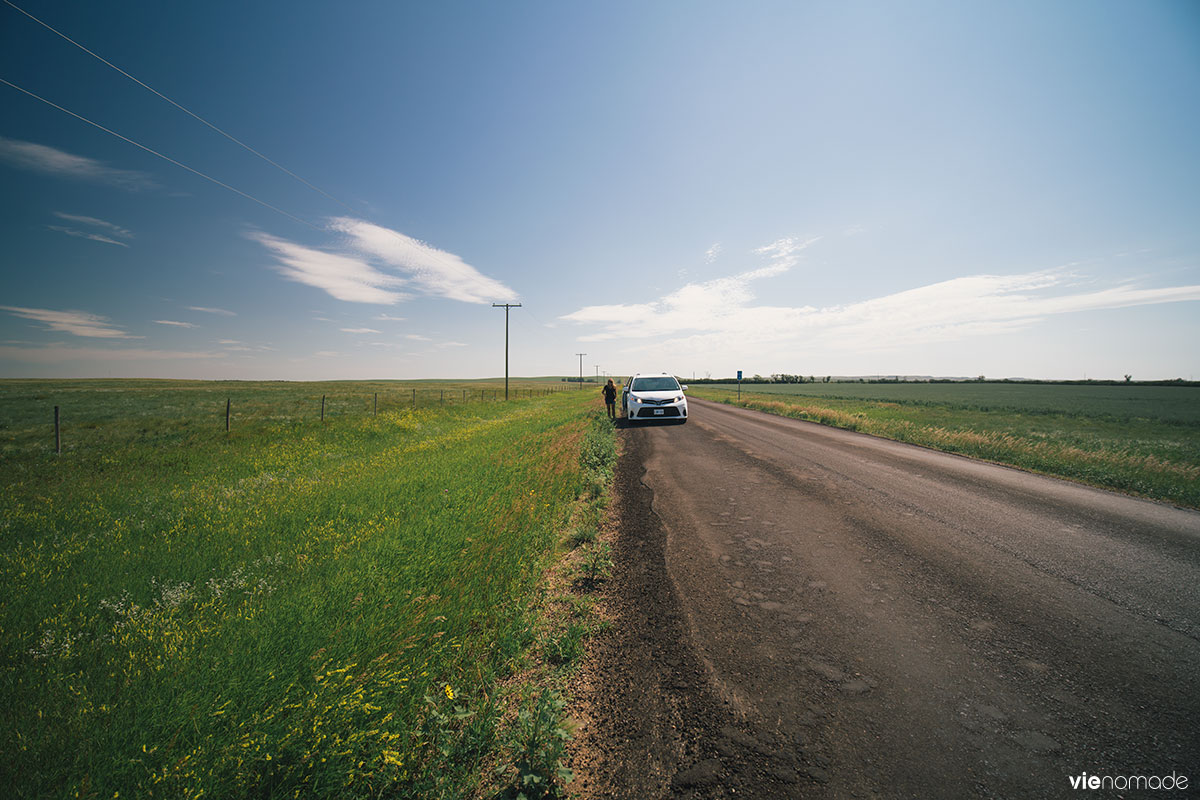 Sur les routes de la Saskatchewan
