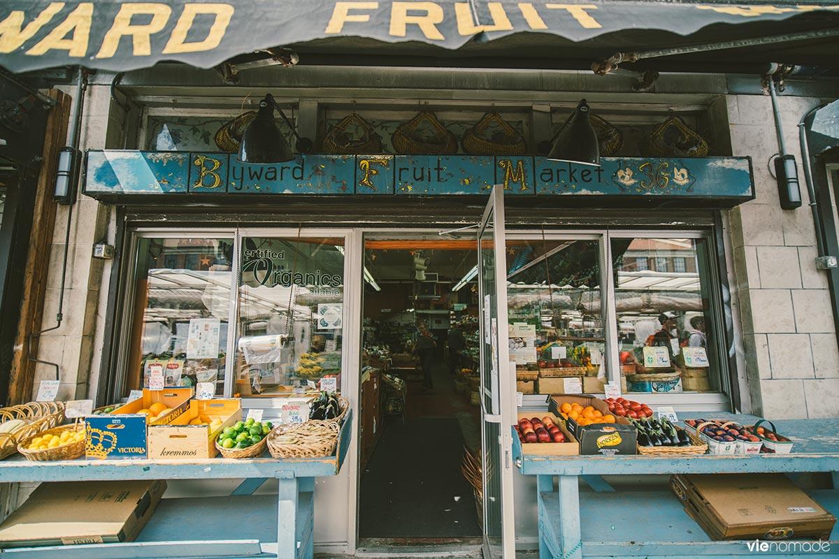 Fruits et légumes du Marché By à Ottawa
