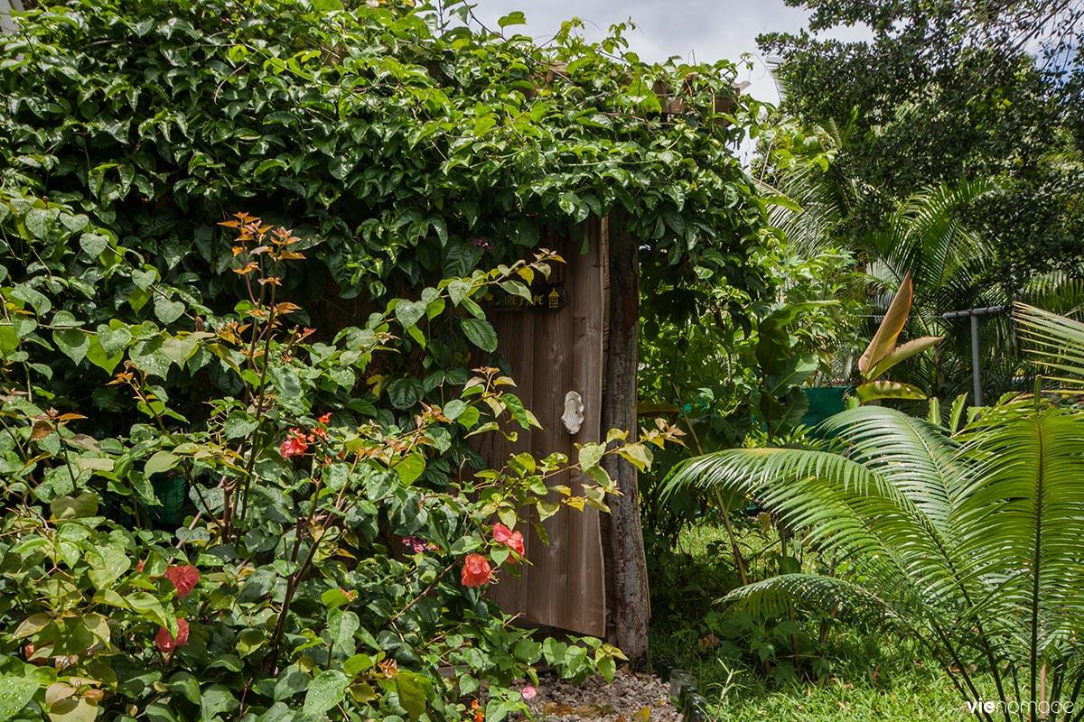 Maison d'hôtes fare rearea à tahiti