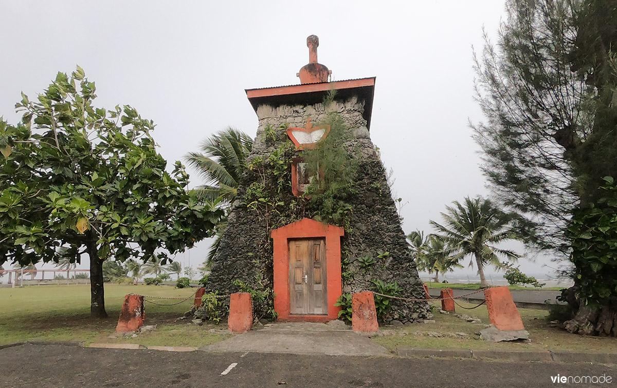 Tombeau du Roi Pomare V à Tahiti