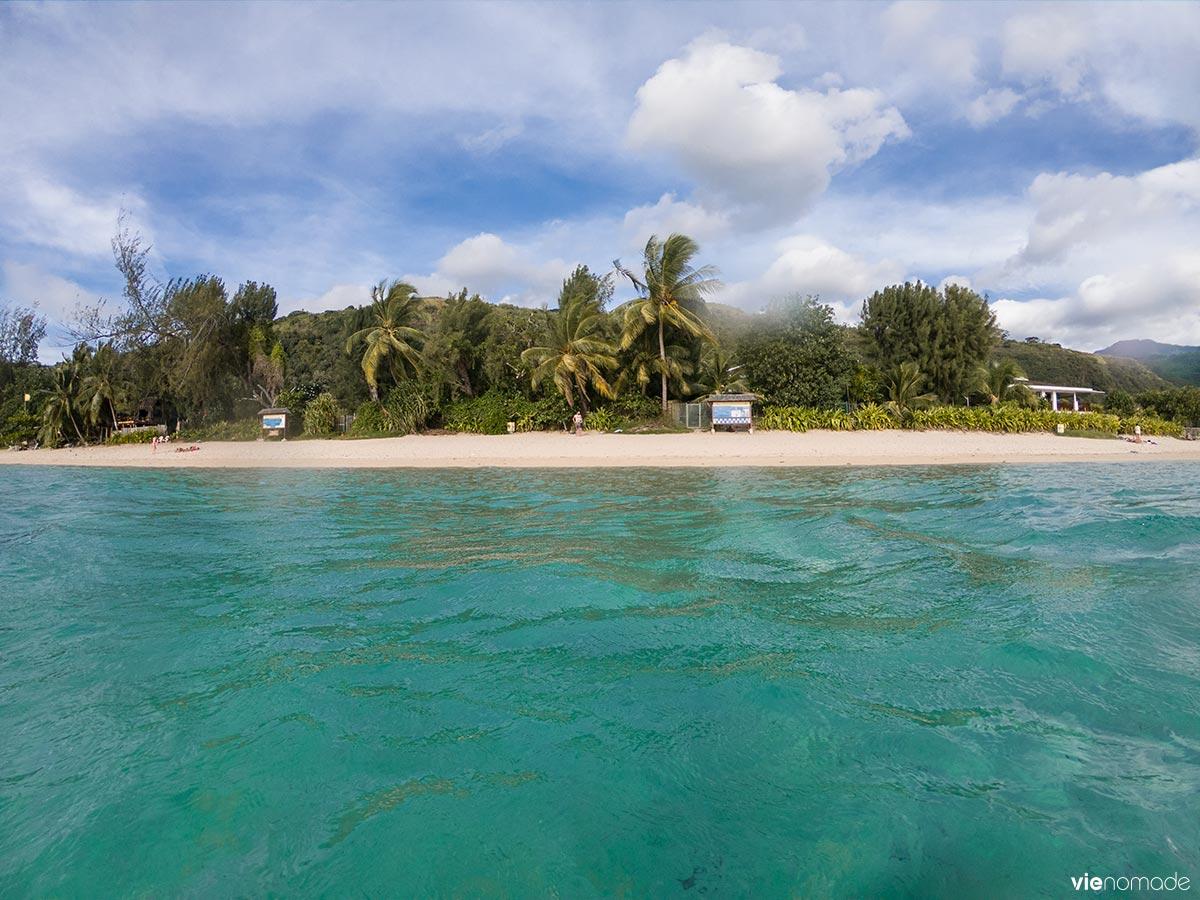 Plage de Vaiava - PK18 à Tahiti